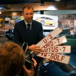 Personalised number plates are big business in Belgium