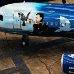 Brussels Airlines unveils Magritte plane
