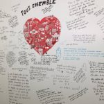 Second memorial wall added to Maelbeek station