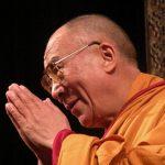 Dalai Lama visiting Brussels