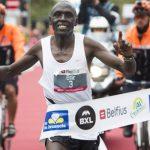 The winner of Brussels Marathon is kenyan Eric Kering