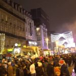 The Christmas Parade in Brussels