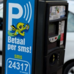 SMS payment for parking in Brussels
