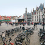 The most bike-friendly cities in Belgium are Bruges and Hasselt