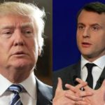 Trump and Macron will meet together in Brussels