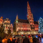 Christmas atmosphere is already in Brussels