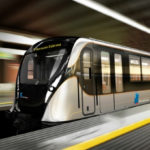 Metro trains in Brussels will be in silver-black colors