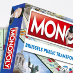 Transport edition of Monopoly by Brussels operator STIB