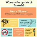 Cyclists in Brussels